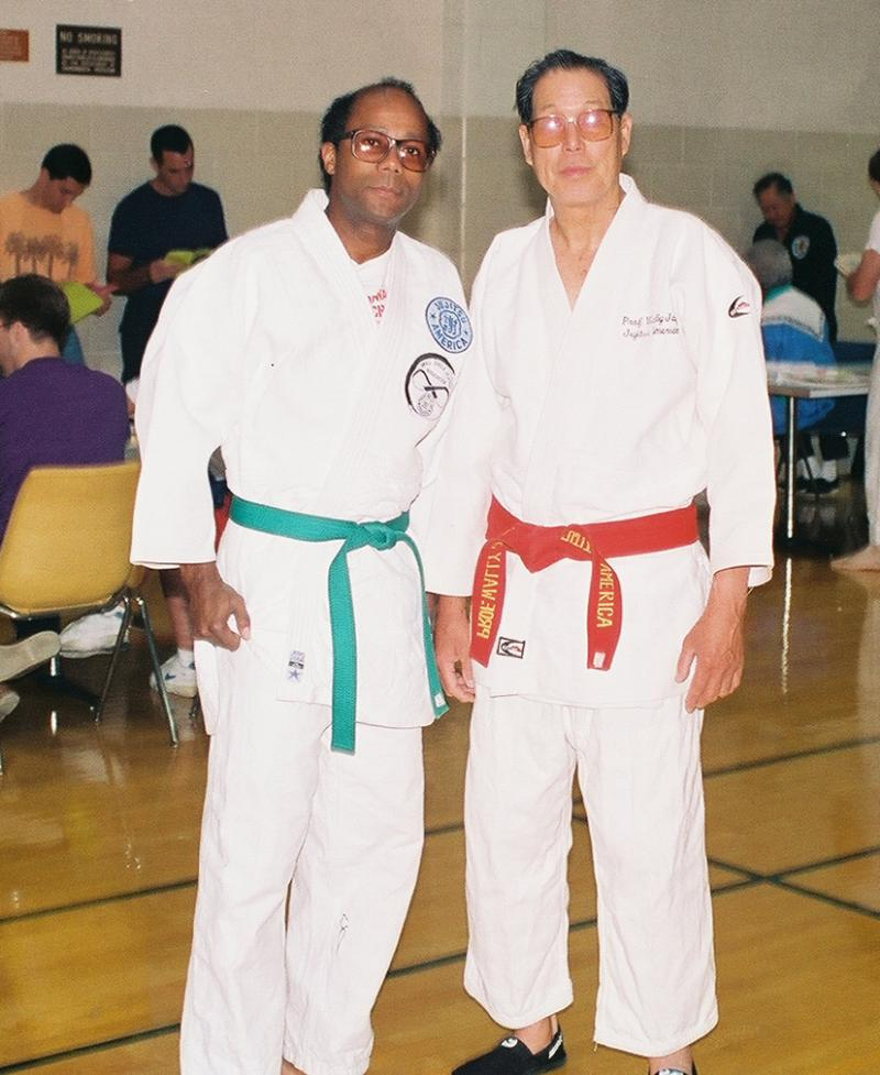 Prof. Jay and Sensei Calhoun in the early days